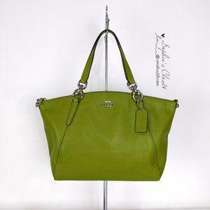Coach Small Kelsey Satchel Crossbody Leather Bag